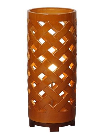 Crisscross Lantern in Multiple Colors design by Emissary