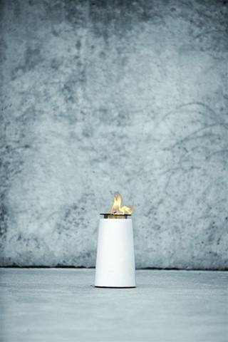 Lighthouse, White Oillamp 22cm design by Menu