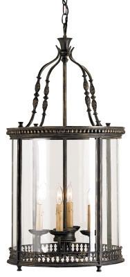 Grayson Lantern design Currey & Company