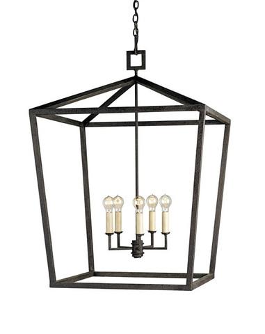 Denison Lantern Large design by Currey & Company