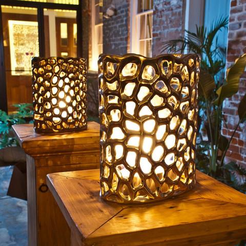 Tortoise Oval Shadow Lantern design by BrasaFire