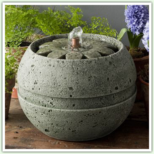 Cast Stone Tabletop Fountains