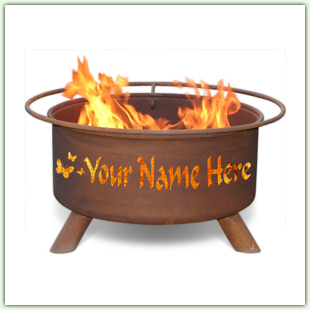 Personalized Fire Pits