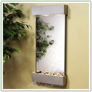 Glass or Mirror Wall Fountains