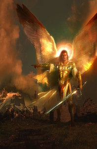 These are the angels who supervise the guardian angels and angels upon the earth.