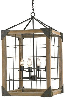Eufaula Lantern design by Currey & Company
