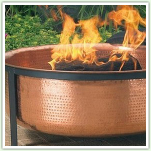 Copper Fire Pits
