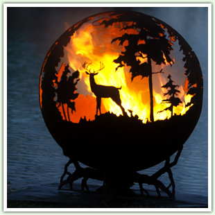Artistic Fire Pits