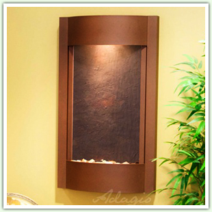 Wall Fountains with Lightweight Slate