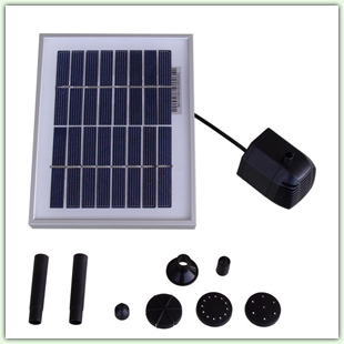 Solar Fountain Pumps and Panels