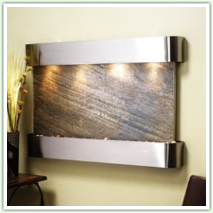 Stainless Steel Wall Waterfalls